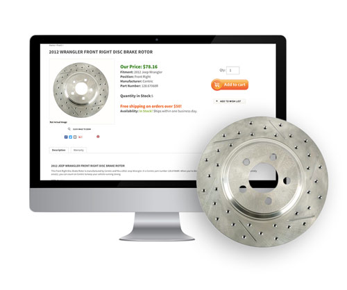 Aftermarket Parts Website