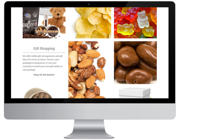Food and Snacks e-commerce website