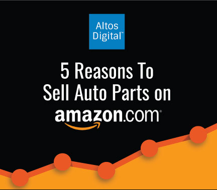 5 Must-Read Stats That Will Make You Want To Sell Auto Parts On Amazon: An Infographic